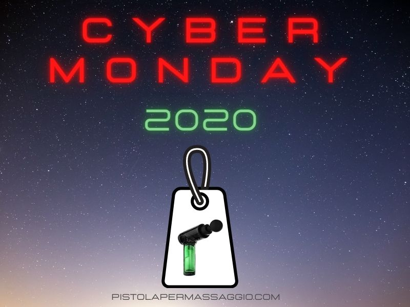 Cyber Monday pistola massaggiante