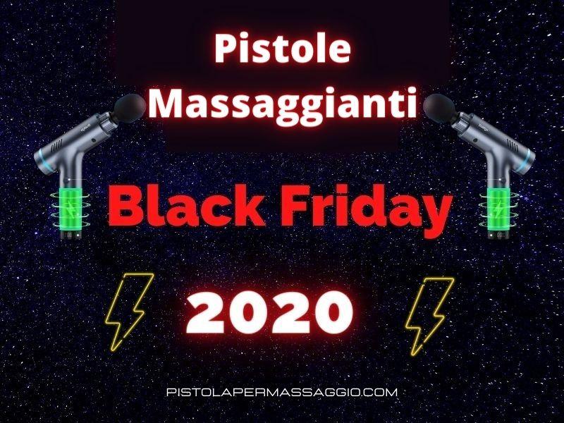 PISTOLA PER MASSAGGIO BLACK FRIDAY