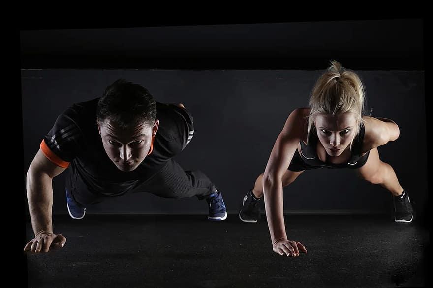 esercizi prima, durante e dopo l'allenamento
